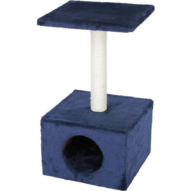Katzenzubehör - Kratzbaum - blau