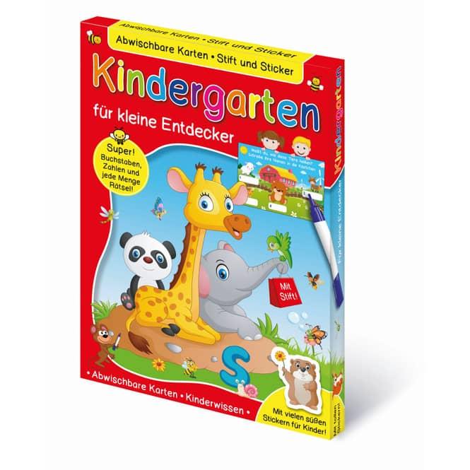 Lern-& Rätselkartenbox - Kindergarten - für kleine Entdecker