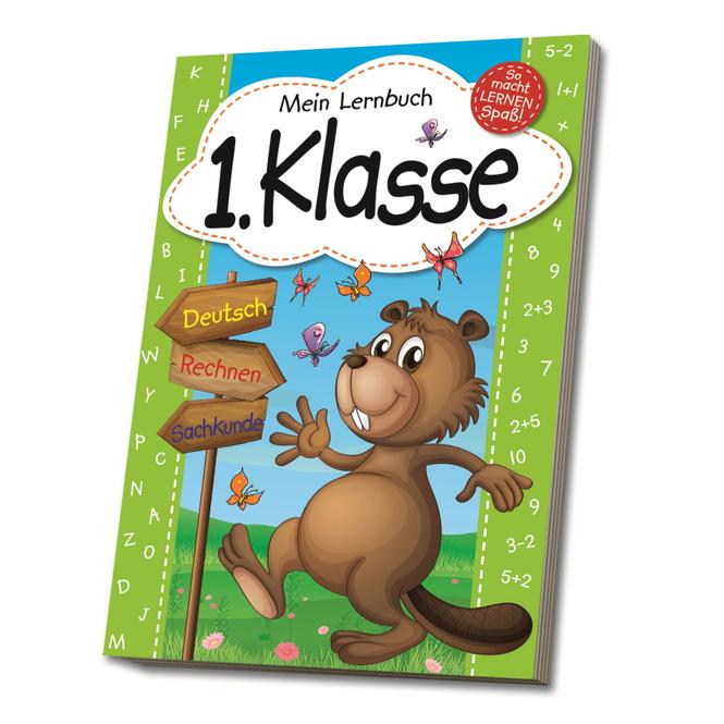 Mein Lernbuch - 1. Klasse - Deutsch, Rechnen, Sachkunde
