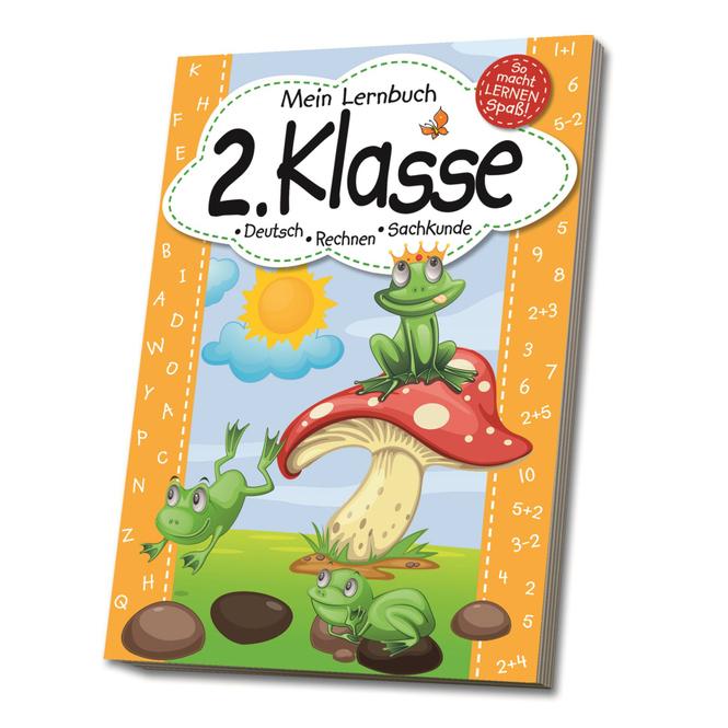 Mein Lernbuch - 2. Klasse - Deutsch, Rechnen, Sachkunde