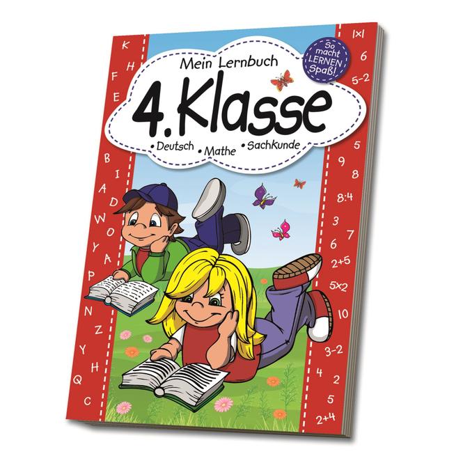 Mein Lernbuch - 4. Klasse - Deutsch, Mathe, Sachkunde