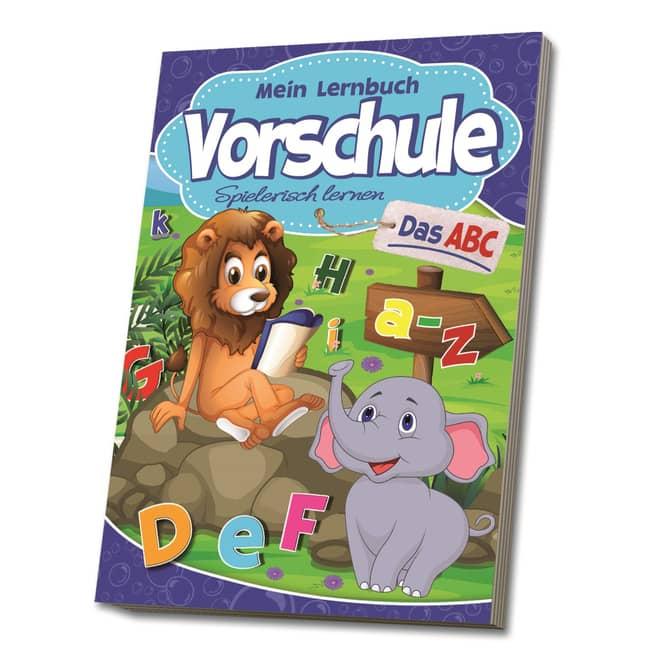 Mein Lernbuch - Vorschule - Das ABC - Spielerisch lernen