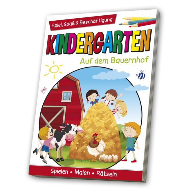 Kindergarten - Auf dem Bauernhof - Spiel, Spaß & Beschäftigung