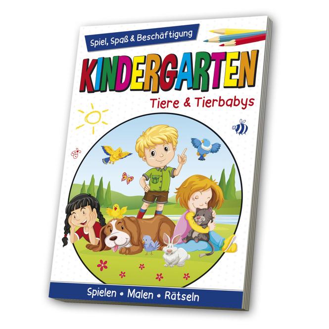 Kindergarten - Tiere & Tierbabys - Spiel, Spaß & Beschäftigung