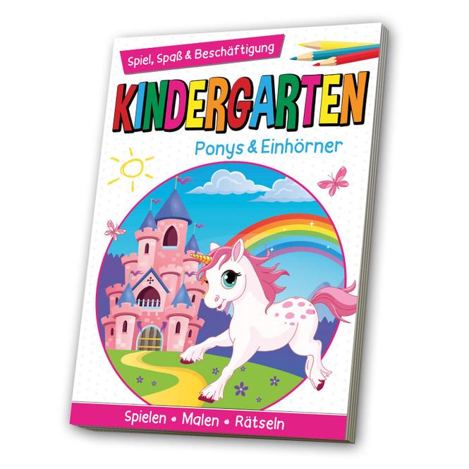 Kindergarten - Ponys & Einörner - Spiel, Spaß & Beschäftigung