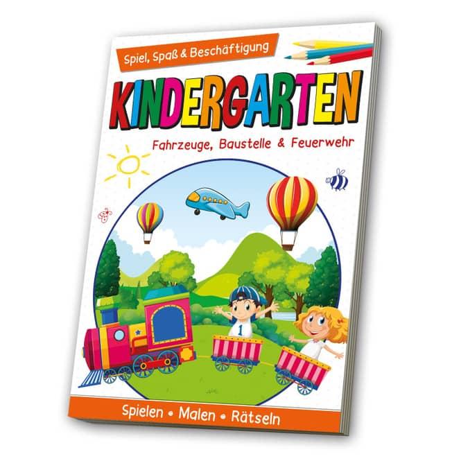Kindergarten - Fahrzeuge, Baustelle & Feuerwehr - Spiel, Spaß & Beschäftigung