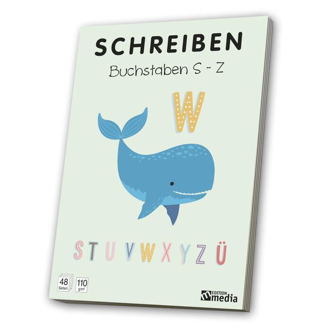 Schreiben - Buchstaben S - Z