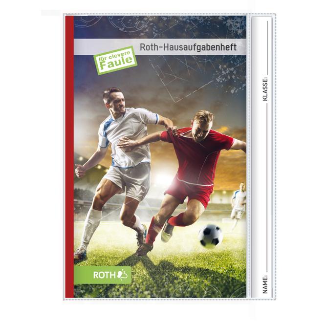 Hausaufgabenheft Teens - Fußballspieler - DIN A5