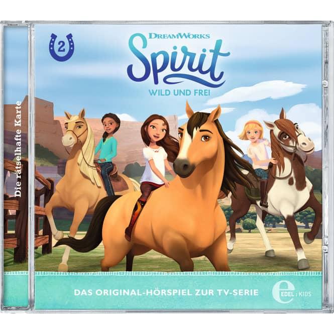Hörspiel CD - Spirit Folge 2 - Die rätselhafte Karte