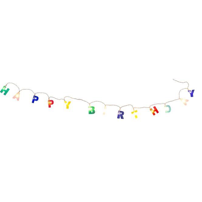 Lichterkette Happy Birthday - ca. 1,5m