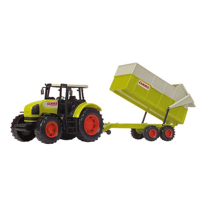 Dickie - Claas Traktor mit Anhänger
