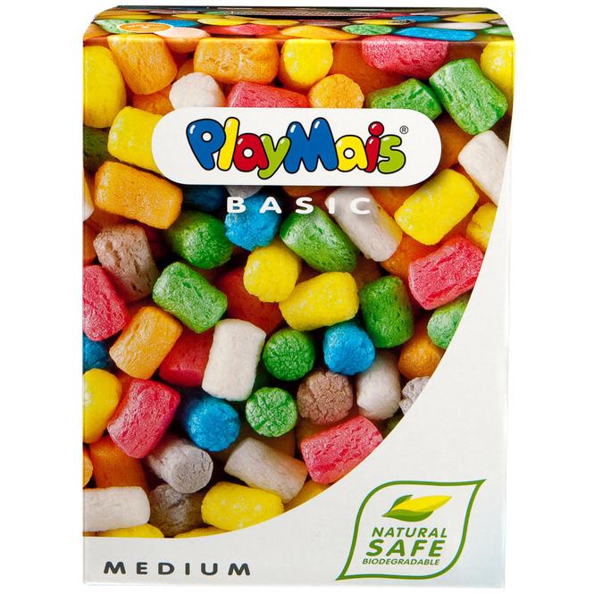 PlayMais BASIC Medium ca. 300 Steine PlayMais 160024