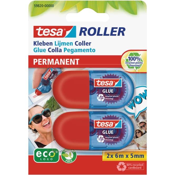 Tesa - Kleberoller Mini - 2 Stück