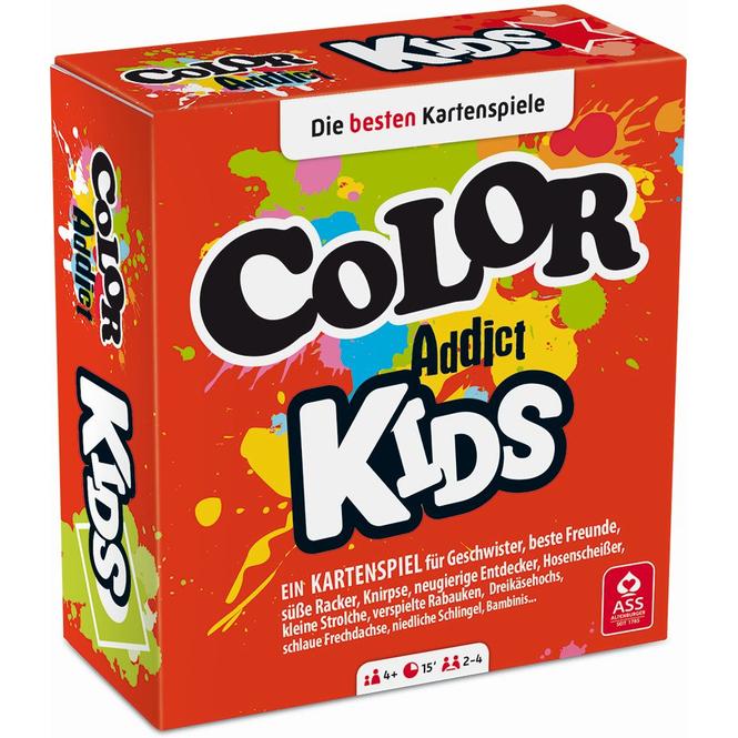 Color Addict Kids - Kartenspiel