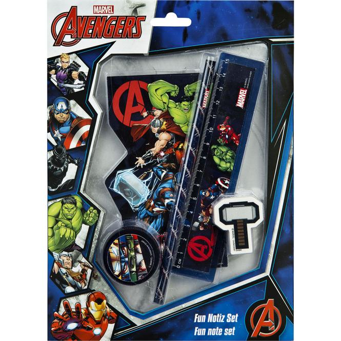 Avengers - Schreibset - 5-teilig