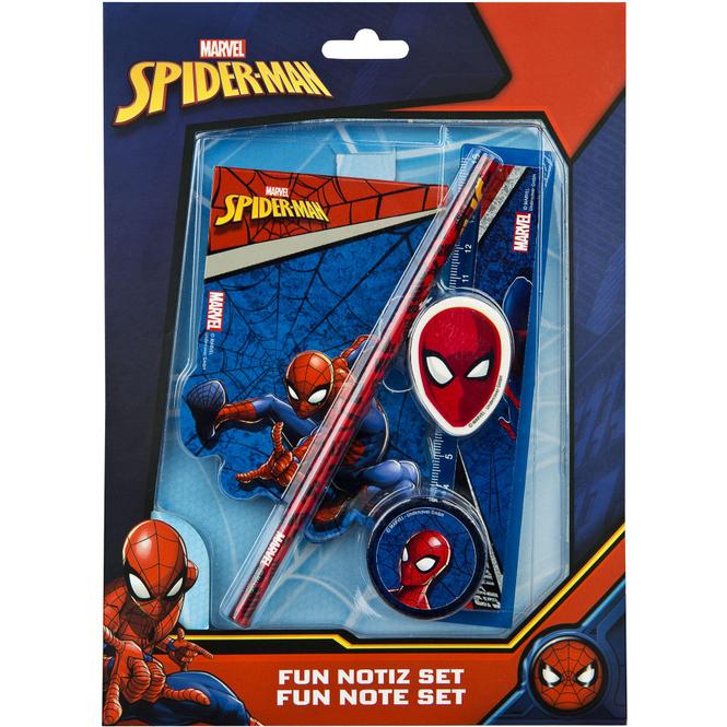 Spiderman - Schreibset - 5-teilig