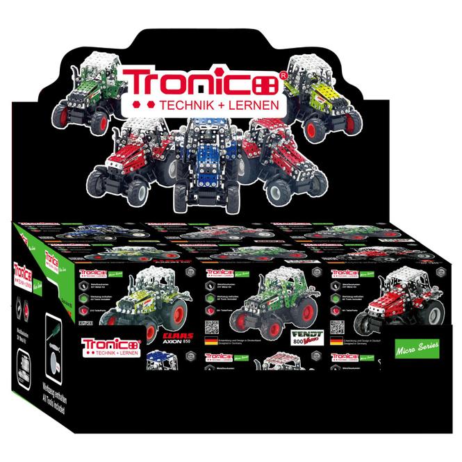 Tronico - Metallbau-Set Traktor - 1 Stück