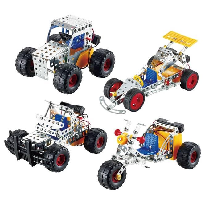 Tronico - Metallbau-Set Fahrzeuge - 1 Stück
