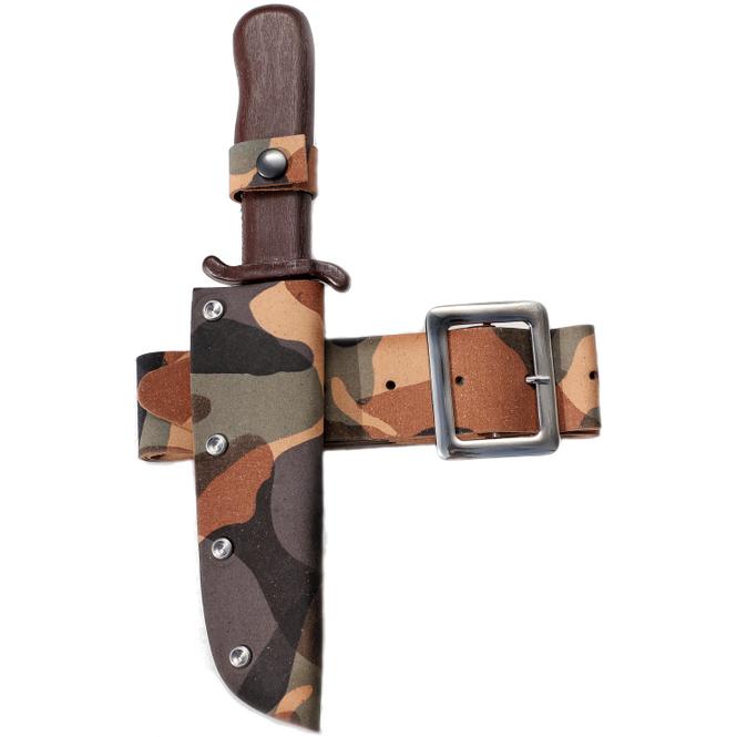 Gürtel - Camouflage - 120 cm