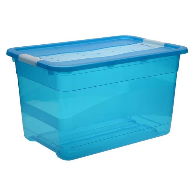 Kristallbox - blau - 52L