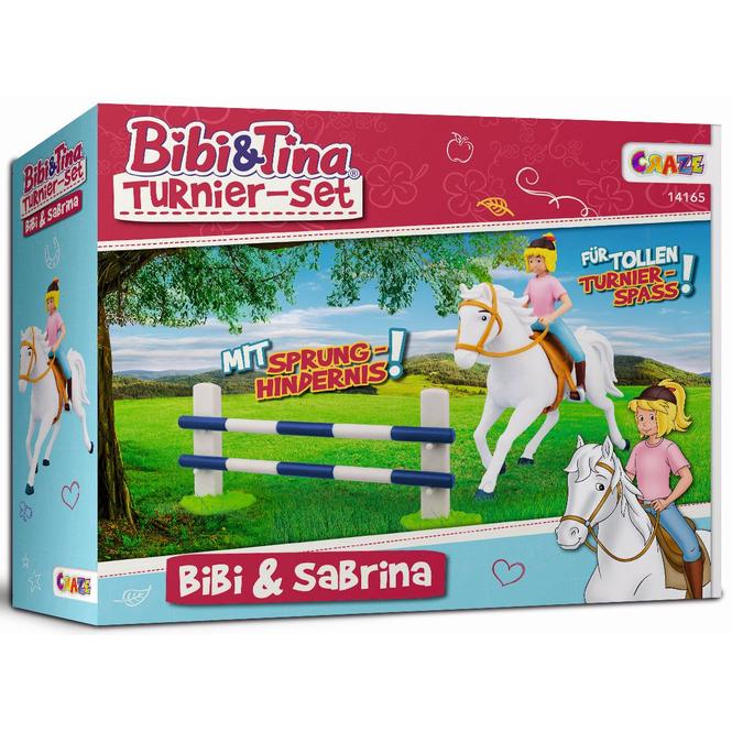Bibi & Tina - Spielset - Bibi und Sabrina Turnier-Set