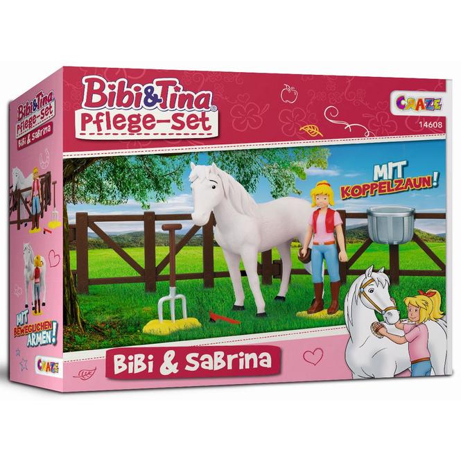 Bibi & Tina - Spielset - Bibi und Sabrina Pflege-Set