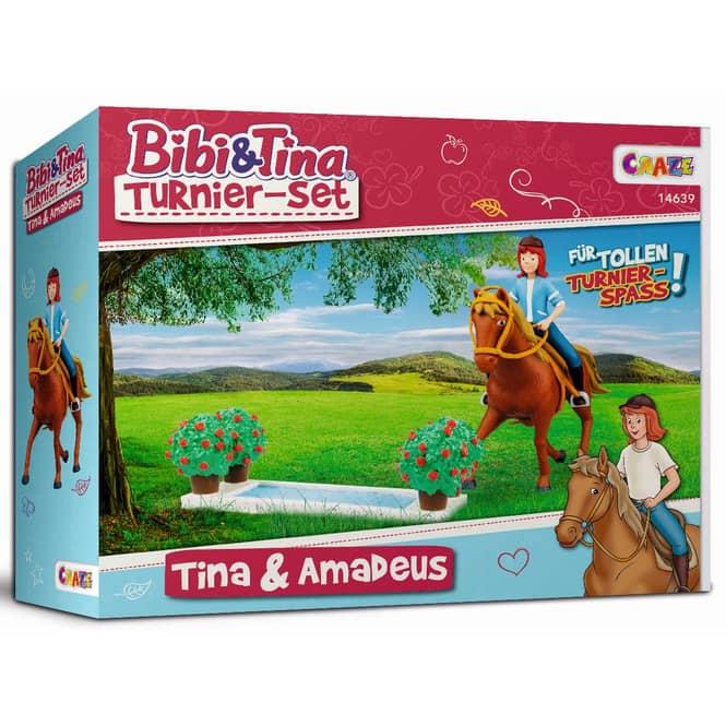 Bibi & Tina - Spielset - Tina und Amadeus Turnier-Set