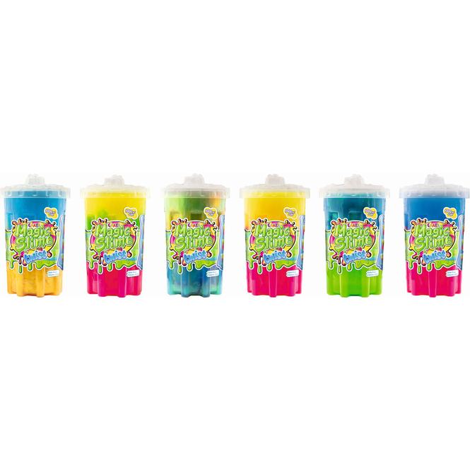 Magic Slime Twist - Schleim in Neon- und Metallic-Optik - verschiedene Farben - 1 Stück