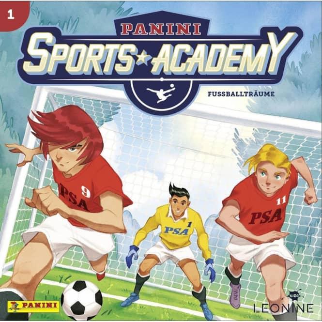 Panini Sports Academy - Hörspiel CD - Folge 1 - Fußballträume