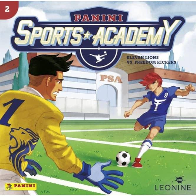 Panini Sports Academy - Hörspiel CD - Folge 2 - Eleven Lions vs. Freedom Kickers