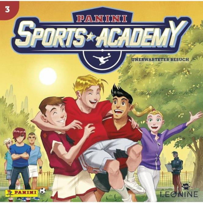 Panini Sports Academy - Hörspiel CD - Folge 3 - Unerwarteter Besuch