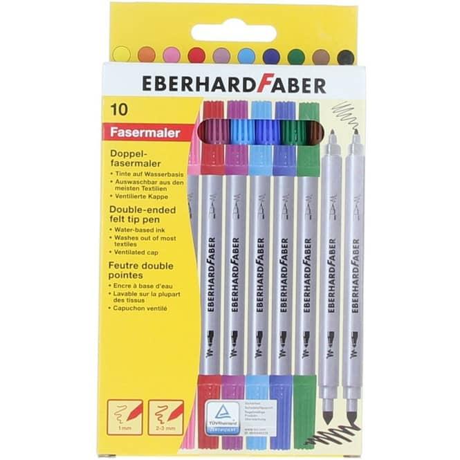 Eberhard Faber 10 Doppelfasermaler