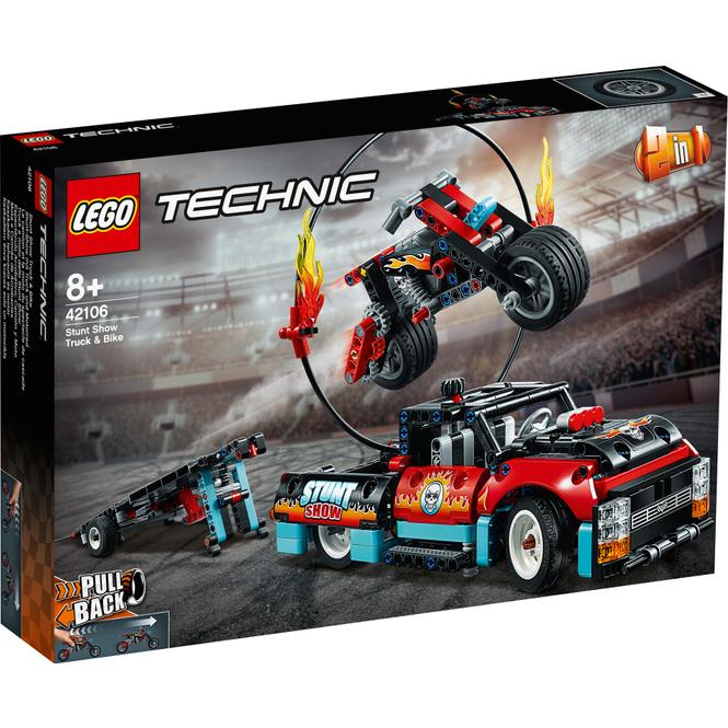 LEGO® Technic 42106 - Stunt-Show mit Truck und Motorrad