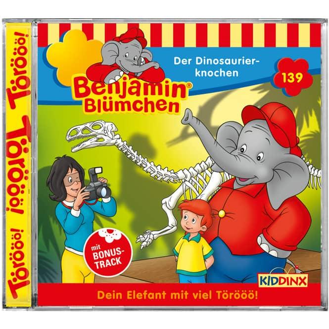 Benjamin Blümchen - Hörspiel CD - Folge 139 - Der Dinosaurierknochen