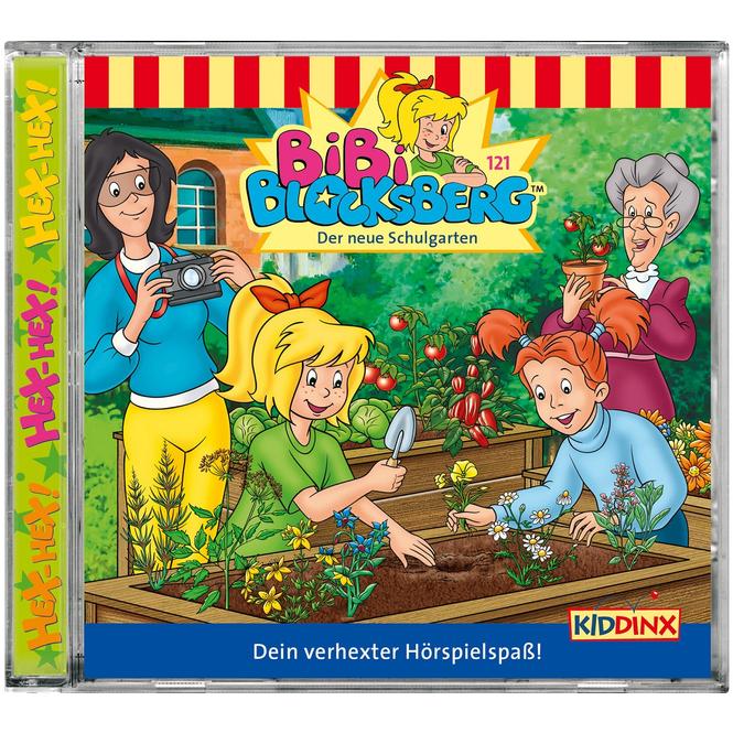 Bibi Blocksberg - Hörspiel CD - Folge 121 - Der neue Schulgarten