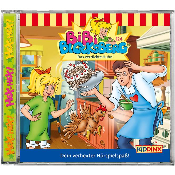Bibi Blocksberg - Hörspiel CD - Folge 124 - Das verrückte Huhn