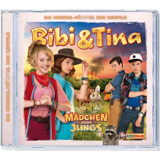Bibi und Tina - Hörspiel CD - Mädchen gegen Jungs