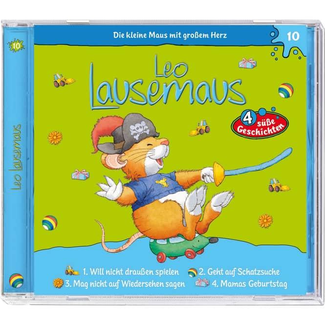 Leo Lausemaus - Hörspiel CD - Folge 10 - 4 süße Geschichten