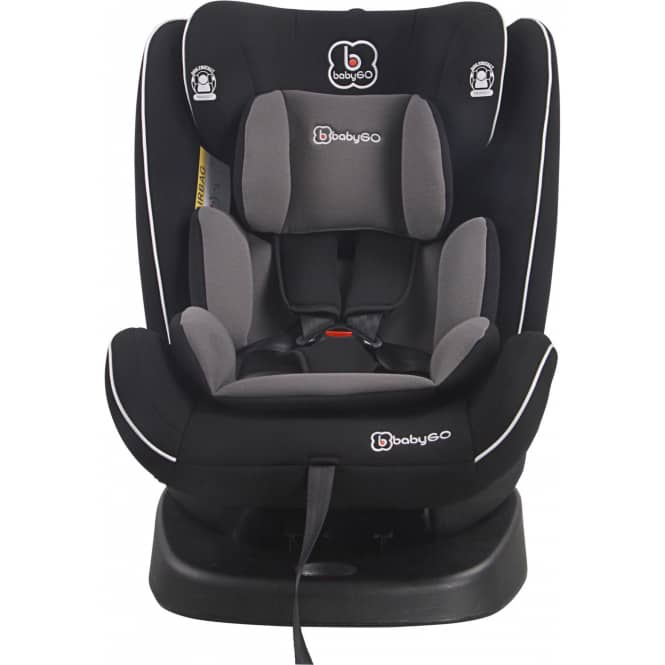 BabyGo - Auto-Kindersitz - Sprinter - schwarz - Gruppe 0/1/2/3
