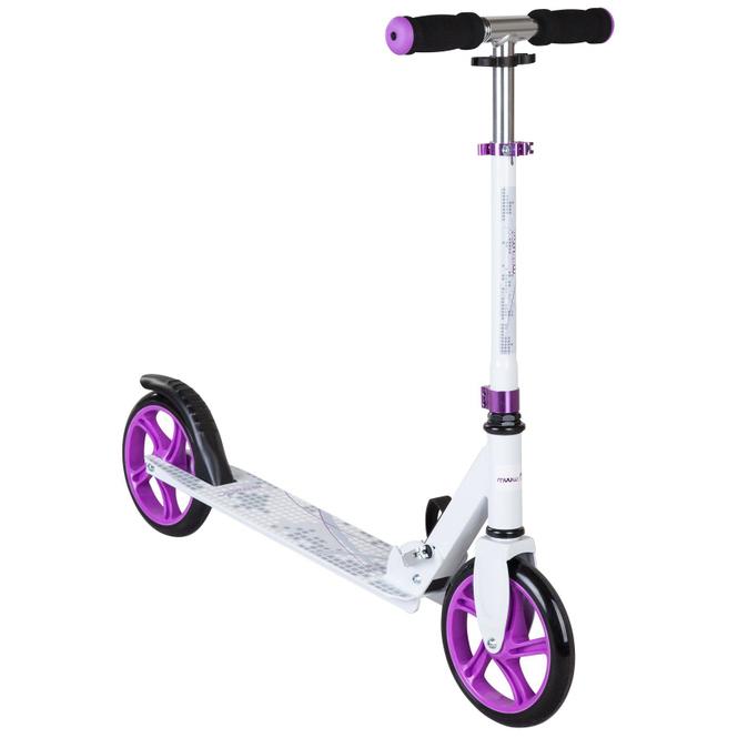 Alu Scooter Muuwmi 200 - weiß/lila