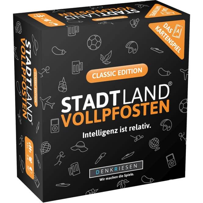 Stadt, Land, Vollpfosten - Das Kartenspiel - Classic Edition