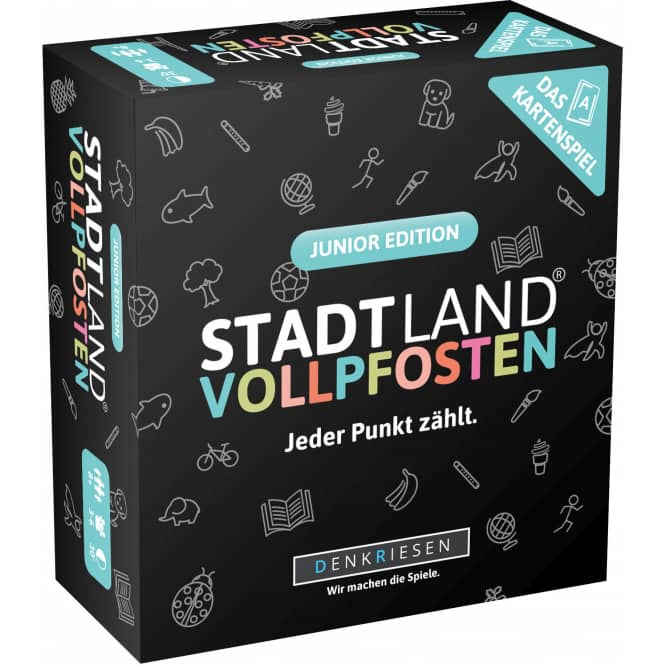Stadt, Land, Vollpfosten - Das Kartenspiel - Junior Edition