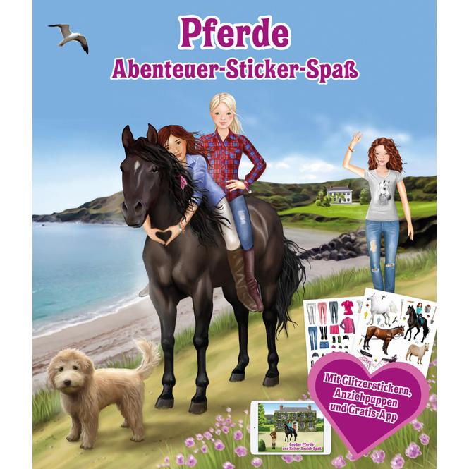 Stickerbuch - Pferdeabenteuer