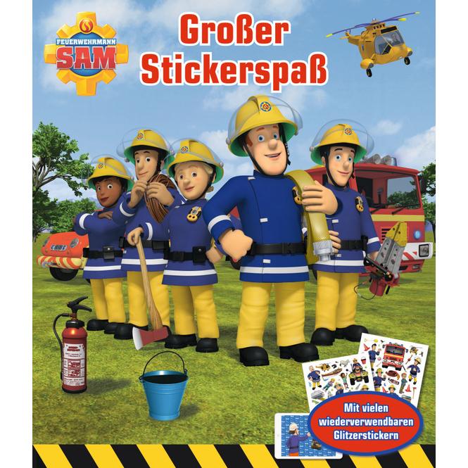 Großer Stickerspaß - Feuerwehrmann Sam