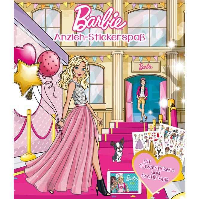 Barbie Anzieh-Stickerspaß
