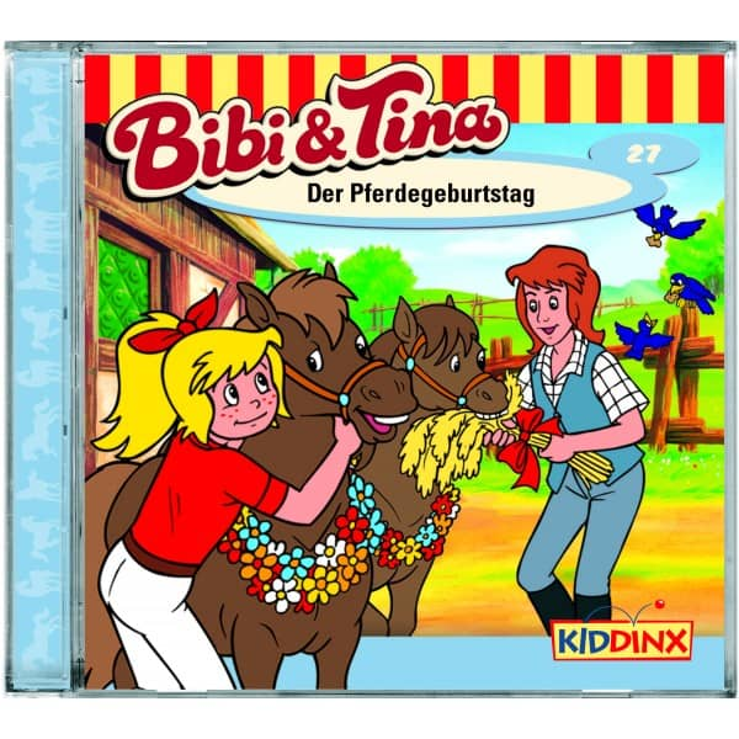 Bibi und Tina - Hörspiel CD - Folge 27 - Der Pferdegeburtstag