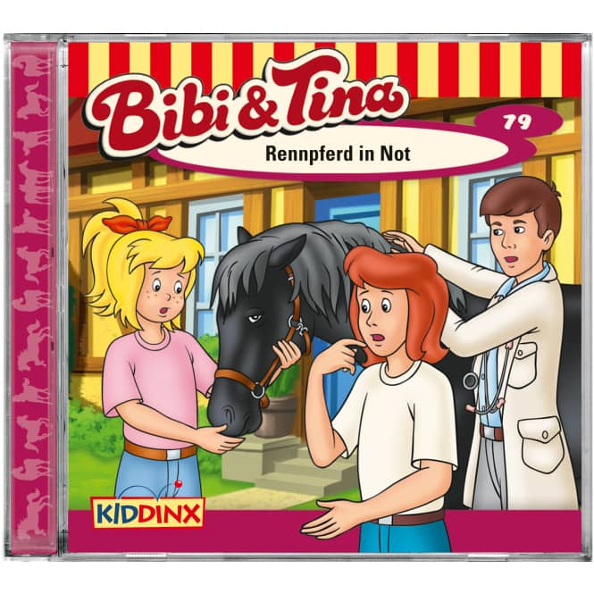 Bibi und Tina - Hörspiel CD - Folge 79 - Rennpferd in Not