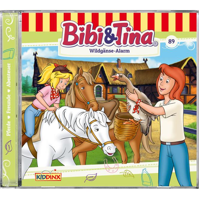 Bibi und Tina - Hörspiel CD - Folge 89 - Wildgänse Alarm