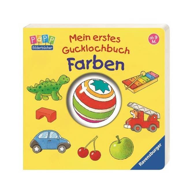 Mein erstes Gucklochbuch - Farben - Ravensburger