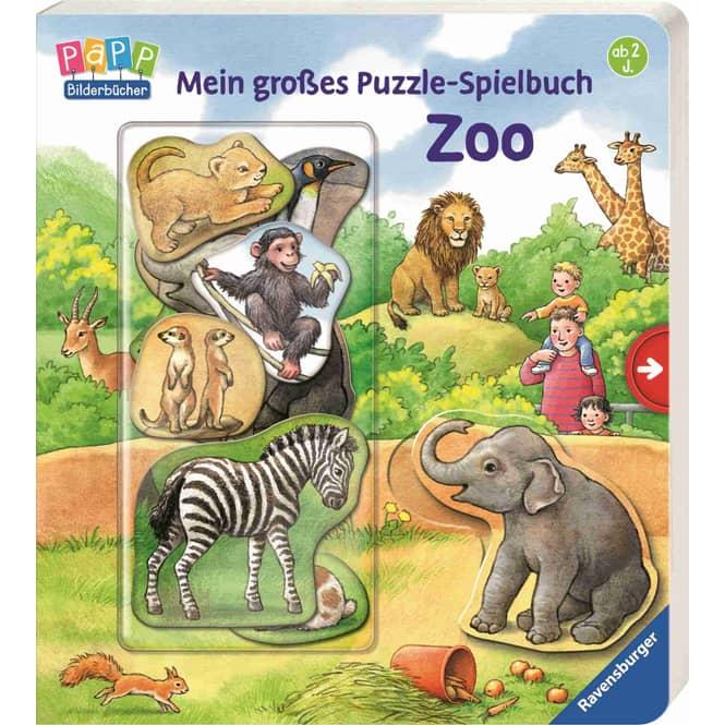 Mein großes Puzzle-Spielbuch - Zoo